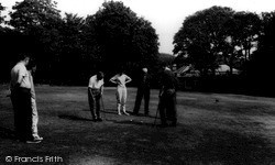 Playing Golf c.1965, Kingsdown