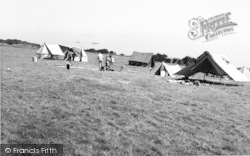 Scout Camp c.1965, Kingsdown