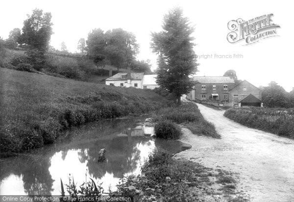 Kingskerswell,Mill 1910,Devon