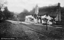 Kingskerswell, Old Cottage 1910