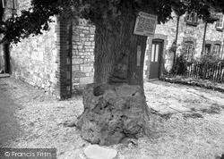 Kingston Lisle, King Alfred's Blowing Stone c.1955