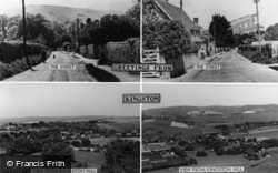 Kingston Near Lewes, Composite c.1960