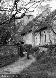 Kingston Near Lewes, St Pancras Church c.1965