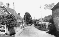Kingston Near Lewes, The Street c.1960