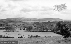 Kingston Near Lewes, View From The Downs c.1965