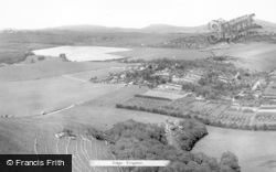 Kingston Near Lewes, View Of Kingston Ridge c.1960