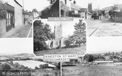 Kingston St Mary, Composite c.1960