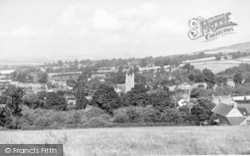 Kingston St Mary, General View c.1955