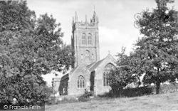 Kingston St Mary, St Mary's Church c.1955