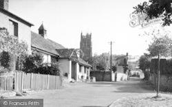 Kingston St Mary, The Village c.1955