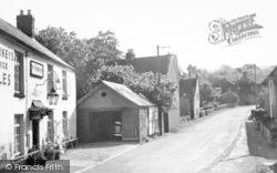Kingston St Mary, The Village c.1960
