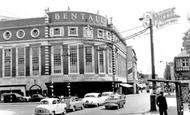 Kingston upon Thames, Bentalls Corner c1960