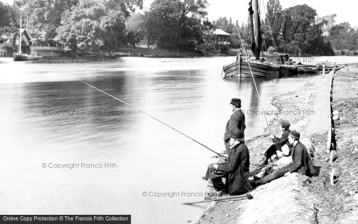 Kingston Upon Thames, Fishing 1890