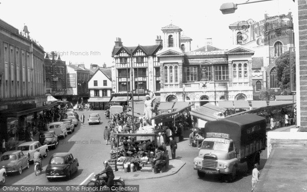390c7a99053801 Photo of Kingston Upon Thames, Market Place 1961