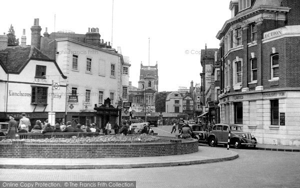 4c44975cf9bf07 Photo of Kingston Upon Thames, Market Place c.1950
