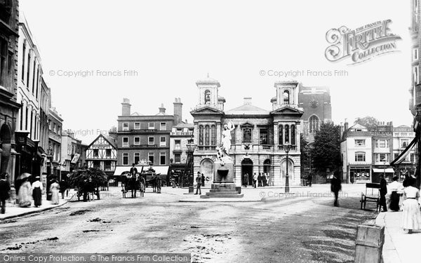 60c8b29df161bb Photo of Kingston Upon Thames, The Market Place 1890