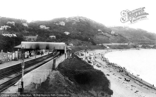 Photo of Kingstown, Killiney Head And The Station 1897