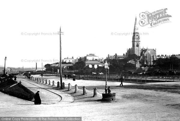 Photo of Kingstown, Queen's Road 1897