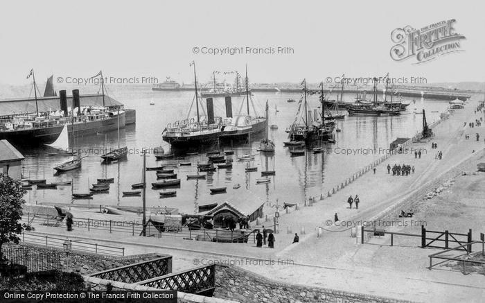 Photo of Kingstown, The Harbour 1897