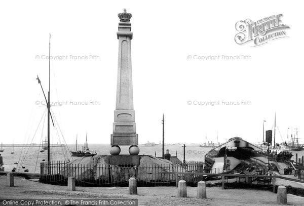Photo of Kingstown, The Obelisk 1897