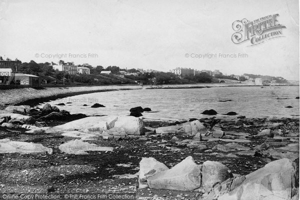 Photo of Kingstown, View From Salthills Station 1897
