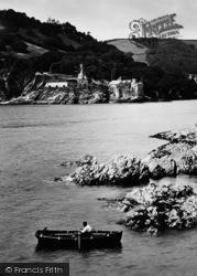 Kingswear, Dartmouth Castle And St Petrox Church c.1900