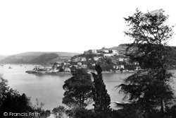 Kingswear, From Dyers Hill 1889