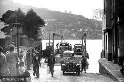 Kingswear, The Ferry c.1950