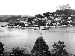 Kingswear, Town And The River Dart 1925