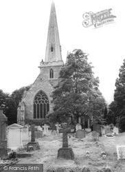 Church Of St Andrew c.1955, Kingswood