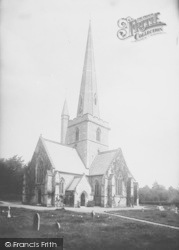 St Andrew's Church 1890, Kingswood