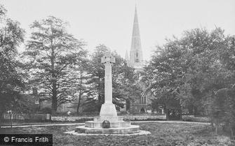 Kingswood, St Andrew's Church and War Memorial 1923