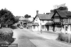 Station Approach c.1960, Kingswood