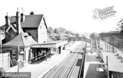 Kingswood, The Station c.1965