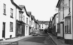 Kington, Bridge Street And Lower Cross c.1955
