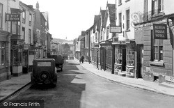 Kington, Bridge Street c.1956