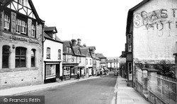 Kington, Church Street c.1955