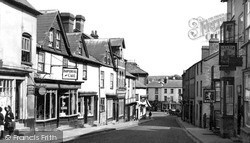 Kington, Church Street c.1956