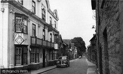 Kington, Duke Street c.1955