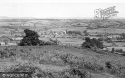 Kington, From Bradnor c.1956