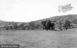 Kington, From Red Hill c.1955