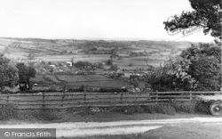 Kington, From The Golf Links c.1955