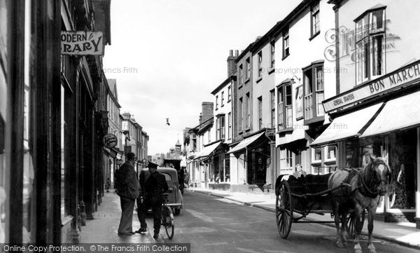 Kington, High Street c1955