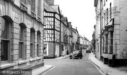Kington, High Street c.1965