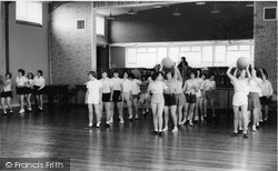 Kington, Lady Hawkins School, Gym Lesson c.1965