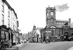 Kington, Old Market Hall c.1965
