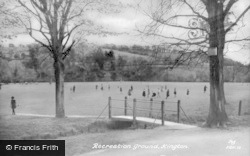 Kington, Recreation Ground c.1950