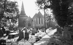 Kington, St Mary's Church c.1965