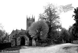 Kington St Michael, Church Of St Michael And All Angels c.1950