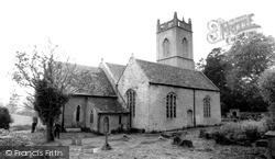 Kington St Michael, Church Of St Michael And All Angels c.1960